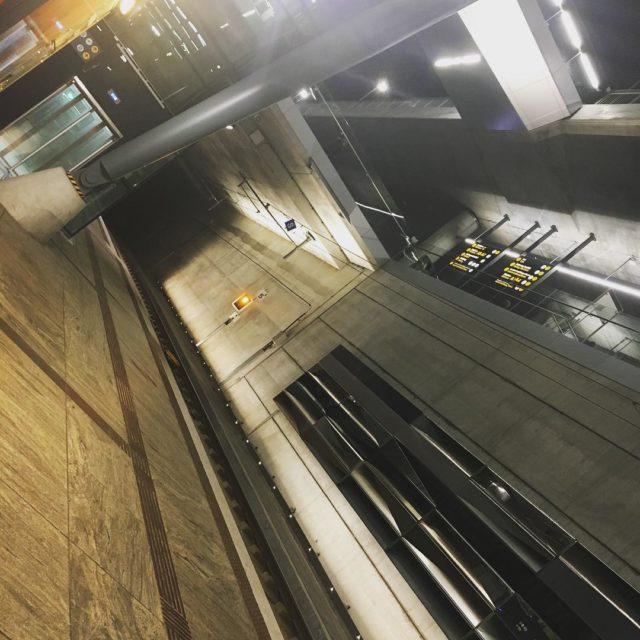 Bergen train station  ready for my EFT training thathellip
